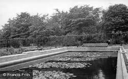 Cudworth, The Lily Pond c.1960