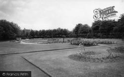 Cudworth, The Park Gardens c.1955