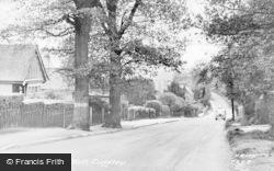Cuffley, Plough Hill c.1955