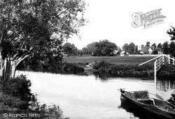 Culham, Church And River Thames 1890