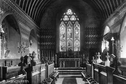 Culham, College Chapel 1900