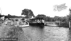 Culham, Lock c.1955