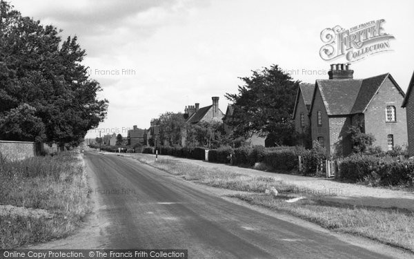 Photo of Culham, The Village c.1955