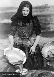 Fisher Girl c.1905, Cullen