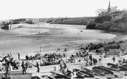 Cullercoats, North Beach c.1965