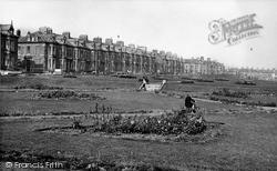 Cullercoats, Promenade Gardens c.1955