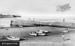 Cullercoats, South Beach c.1965