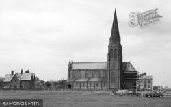 Cullercoats, St George's Church c.1965