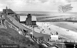Cullercoats, The Beach 1965