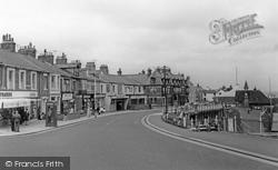Cullercoats, Victoria Crescent c.1965