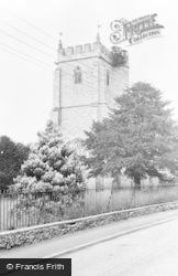 Culmstock, All Saints Church c.1960