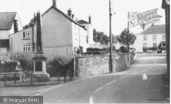 Culmstock, Memorial And Town Hall c.1960