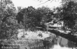 River Culm c.1960, Culmstock