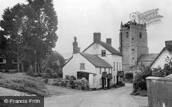 Culmstock, The Village c.1960