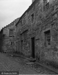 Culross, Bishop Leighton's House 1953