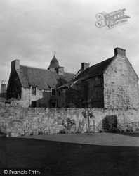 Culross, House Next To Palace 1953