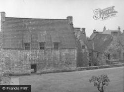 Culross, Palace From The Garden 1956