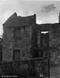 Culross, The Nunnery 1953