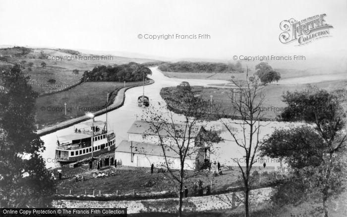 Photo of Cumbernauld, Ss 'gypsy Queen' At Craigmarloch c.1910
