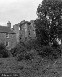 Cupar, Creich Castle 1953