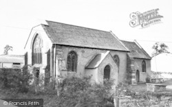 Curry Rivel, Ancient Church c.1960
