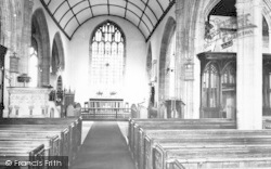 Curry Rivel, Church Interior c.19690