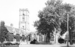 Curry Rivel, Parish Church c.1960