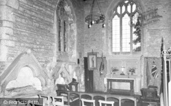 Curry Rivel, Parish Church Interior c.1960