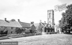 Curry Rivel, St Andrew's Church And Green c.1960