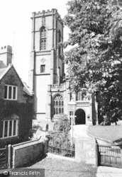 Curry Rivel, St Andrew's Church c.1960