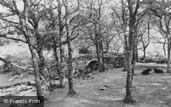 Cwm Yr Afon Bridge c.1960, Cwm Bychan