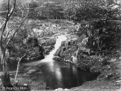 Falls At Cwm Bychan c.1890, Cwm Bychan