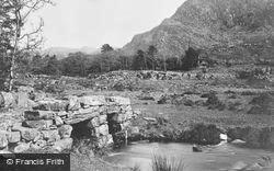 Roman Bridge 1889, Cwm Bychan