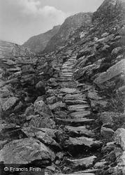 Roman Steps c.1933, Cwm Bychan