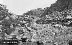 Roman Steps c.1955, Cwm Bychan