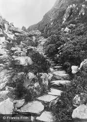 The Roman Steps c.1955, Cwm Bychan
