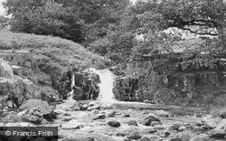 The Waterfalls c.1955, Cwm Bychan