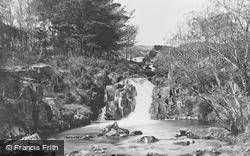 Waterfall 1889, Cwm Bychan