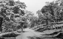 Cwm, Cemetery Road c.1955