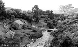 Cwm Llinau, The Old Mill And River Dyfi c.1960