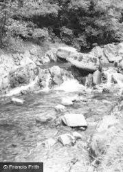 Cwm Llinau, The River c.1960