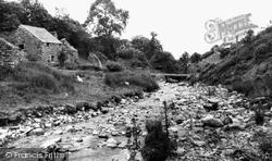 Cwm Llinau, The River Dyfi c.1960