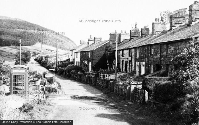 Photo of Cwm Penmachno, Carrog Terrace c.1965