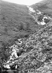 Cwm Penmachno, Llyn Pen-Rhiw c.1965