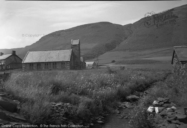 Photo of Cwm Penmachno, The Church 1956