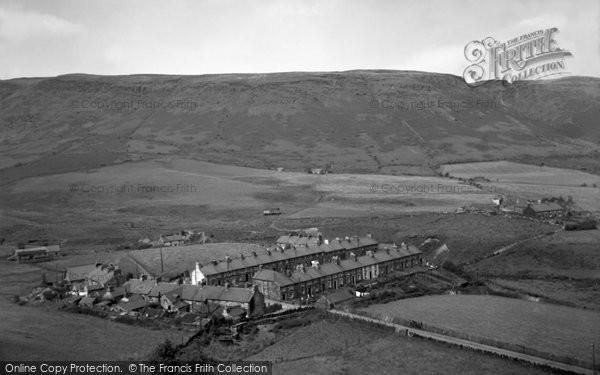 Photo of Cwm Penmachno, the Terrace 1956