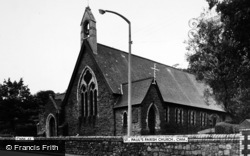 Cwm, St Paul's Parish Church c.1960