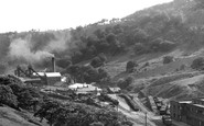 Cwm, the Colliery c1955