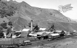 Cwm, The Marine Colliery c.1960