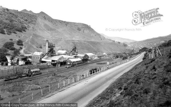 Photo of Cwm, the Marine Colliery c1960